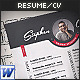 3-Piece Resume / CV Set - GraphicRiver Item for Sale