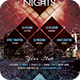 Party Nights Flyer - GraphicRiver Item for Sale