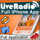 Live Radio App for iPhone - CodeCanyon Item for Sale