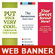Multipurpose Web Banner Design Bundle 6 - GraphicRiver Item for Sale