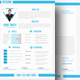 Simple CV/ Resume Cover Letter & Portfolio - GraphicRiver Item for Sale