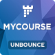 MYCourse - Unbounce eCourse Landing page Template - ThemeForest Item for Sale