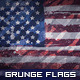 Grunge British, American and Canadian Flags - GraphicRiver Item for Sale