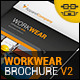 Workwear Catalogue/Brochure V2 - GraphicRiver Item for Sale