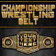 Championship Wrestling Belt - GraphicRiver Item for Sale