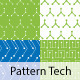 Seamless Pattern Tech Abstract - GraphicRiver Item for Sale