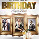 Multiple People Birthday Bash Flyer Template  - GraphicRiver Item for Sale