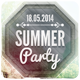 Summer Party - Flyer [Vol.3] - GraphicRiver Item for Sale