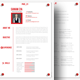 Double Page Resume/ CV With Cover Letter - GraphicRiver Item for Sale