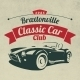 Classic Car Club Logo - GraphicRiver Item for Sale