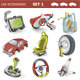 Car Accessories - GraphicRiver Item for Sale