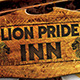 Lion Pride Inn Flyer - GraphicRiver Item for Sale