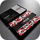 Modern Red Business Card - GraphicRiver Item for Sale