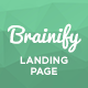 Brainify - Application Landing Page Template - ThemeForest Item for Sale