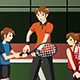 Kids in a Tennis Club with the Instructor - GraphicRiver Item for Sale