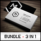 Business Cards Bundle #11 - GraphicRiver Item for Sale