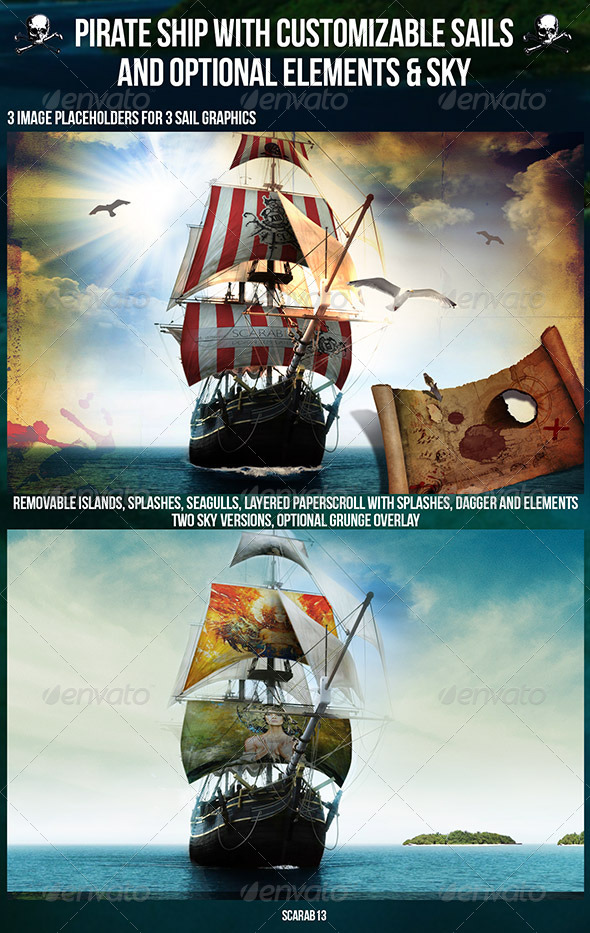 pirate ship sails template - origami pirate boat instructions