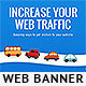 Web Traffic Web Banner - GraphicRiver Item for Sale