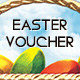 Easter Gift Voucher - GraphicRiver Item for Sale