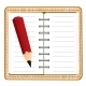 Notepad and Pencil - GraphicRiver Item for Sale