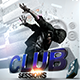Club Sessions Flyer - GraphicRiver Item for Sale