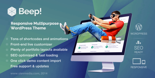 MetroStyle Responsive All Purpose WordPress Theme - 12
