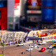 Tilt-shift Las Vegas Street Corner - VideoHive Item for Sale