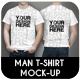 Man T-Shirt Mock-Up - GraphicRiver Item for Sale