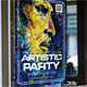 Artistic Party Poster - GraphicRiver Item for Sale