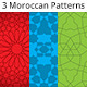 3 Moroccan Patterns Bundle - GraphicRiver Item for Sale