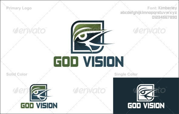 Graphic River God Vision Logo Templates -  Abstract 739236
