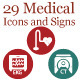 29 Medical Icons and Signs - GraphicRiver Item for Sale