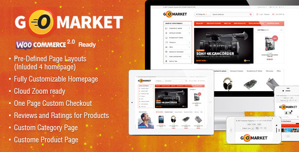 WooCommerce Supermarket Theme