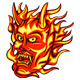 Flame Oni - GraphicRiver Item for Sale