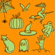 Halloween Doodles - GraphicRiver Item for Sale