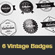 Vintage Typographic Logo Badges - GraphicRiver Item for Sale