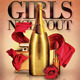 Girls Night Out Flyer - GraphicRiver Item for Sale