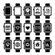 Smart Watch Icon Set. - GraphicRiver Item for Sale