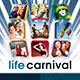 Life Carnival Flyer - GraphicRiver Item for Sale