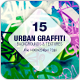 15 Urban Graffiti Backgrounds - GraphicRiver Item for Sale