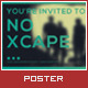 No Xcape Poster - GraphicRiver Item for Sale