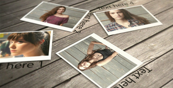 After Effects Project - VideoHive Falling Photos 721130