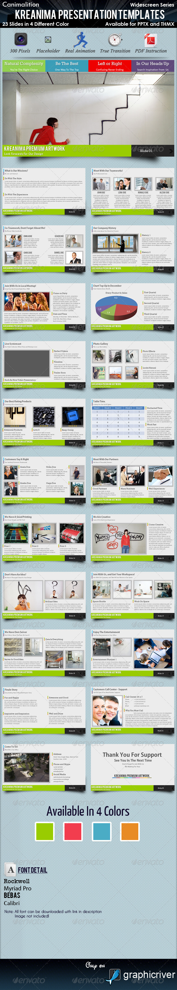 Graphic River Kreanima Presentation Templates Presentation Templates -  Powerpoint Templates  Creative 741013