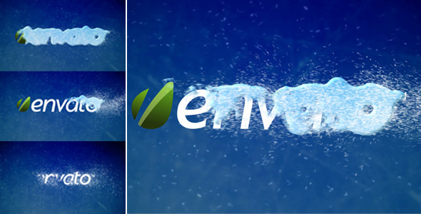 After Effects Project - VideoHive Snow Logo Reveal 741735