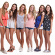 group of healthy tanned smiling summer teenagers - PhotoDune Item for Sale