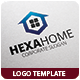 Hexa Home Logo Template - GraphicRiver Item for Sale