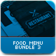 Food Menu Bundle 3 - GraphicRiver Item for Sale