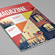 Modern Triangles Magazine - GraphicRiver Item for Sale
