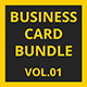 Business Card Bundle | Vol.01 - GraphicRiver Item for Sale