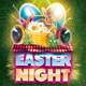 Easter Night Flyer - GraphicRiver Item for Sale